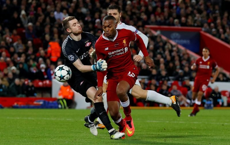 Daniel Sturridge could leave Liverpool in surprising January move