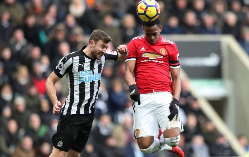Newcastle defender reacts to superb win over Manchester United in four words on Twitter