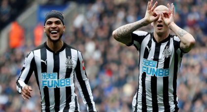 Some Newcastle fans react to Yedlin injury v Tottenham
