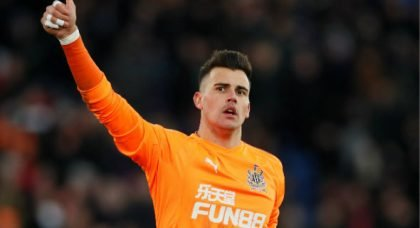 Darlow suffers elbow injury