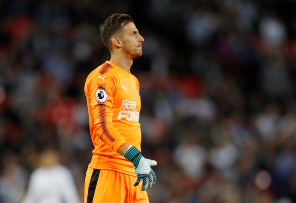 Newcastle confident Dubravka will stay