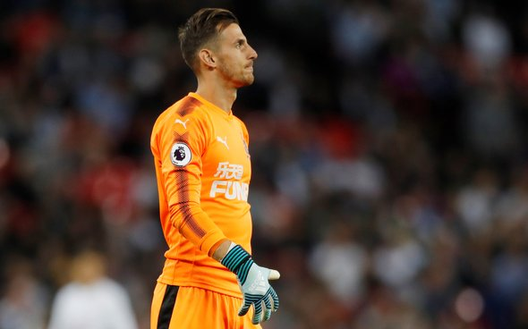 Image for Newcastle confident Dubravka will stay
