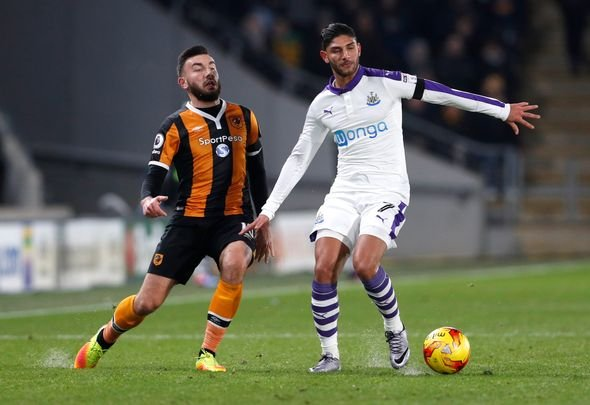 Newcastle willing to sell Lazaar for £2m