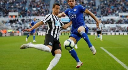 Newcastle fans destroy Manquillo v Everton