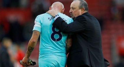 Newcastle fans react to Shelvey snub v Bournemouth