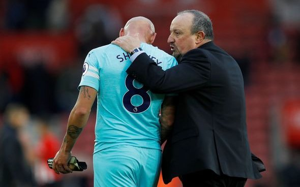 Image for Some Newcastle fans rave about Shelvey