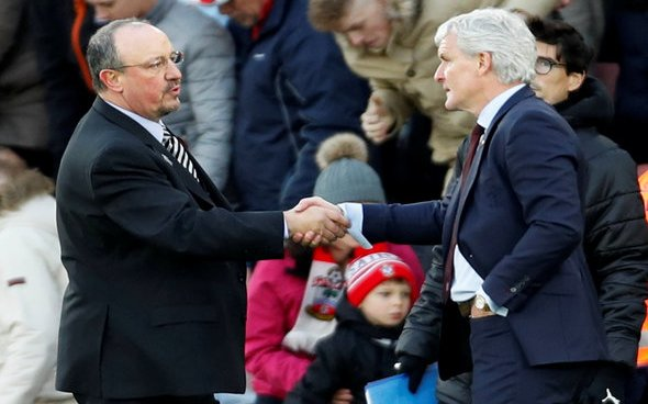 Image for Benitez must return to drawing board after Hughes criticism hits home