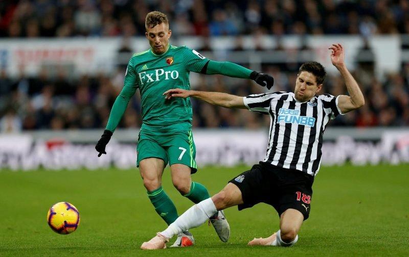 Some Newcastle fans drool over Fernandez v Everton