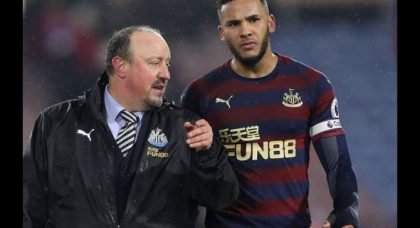 Lascelles must be in Benitez doghouse after Arsenal display