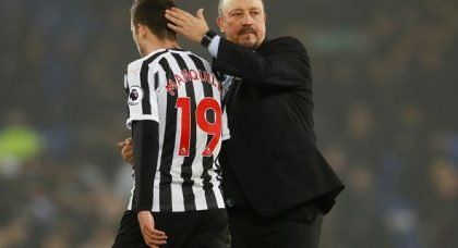 Benitez's words surely spell an end to Manquillo's Magpies run