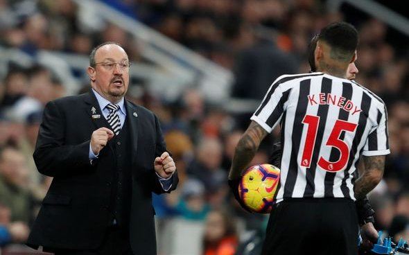 Image for Newcastle fans will love Kenedy report