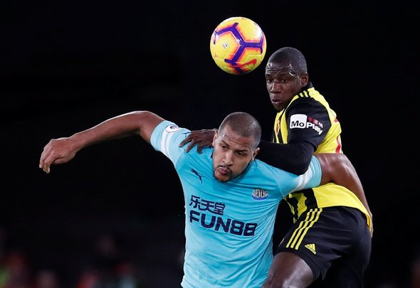 Shearer praises on Rondon for Watford performance
