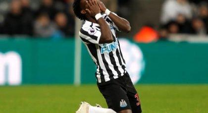Newcastle fans slam Atsu v Leicester