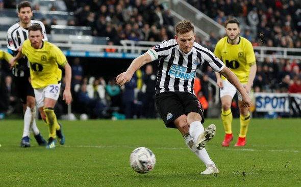 Image for Bruce delivers Matt Ritchie update