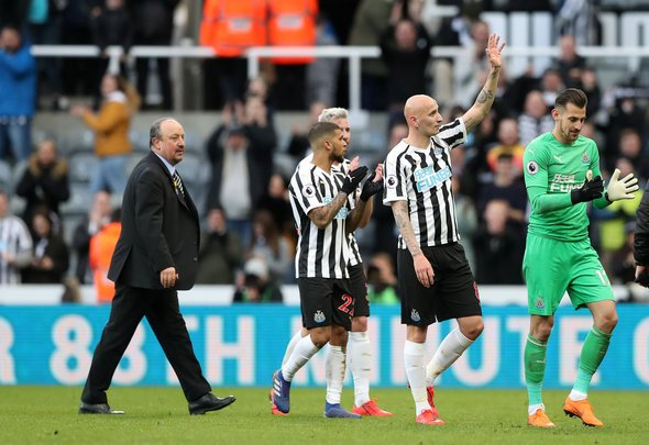 Newcastle best XI v Bournemouth