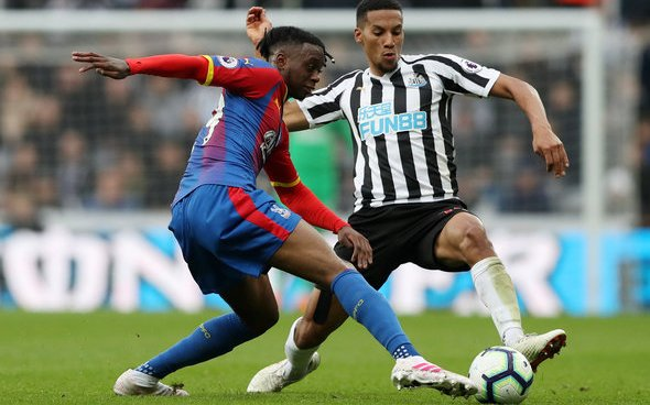 Image for Newcastle fans over the moon with Hayden display v Palace