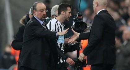 Dyche surely out of Newcastle reckoning
