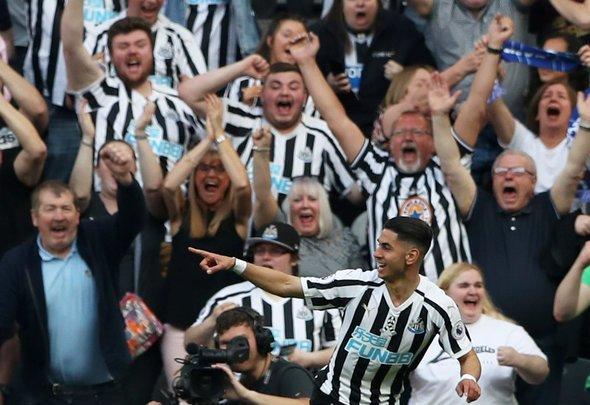 Newcastle fans react to Perez tweet