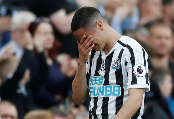 Newcastle fans don't want Almiron axe
