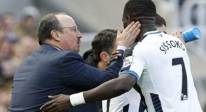 Benitez still in contact with Sissoko and Wijnaldum