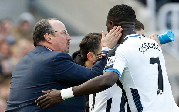 Image for Benitez still in contact with Sissoko and Wijnaldum
