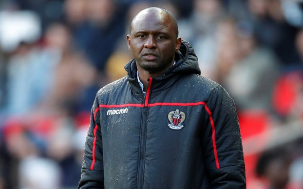 Image for Ratcliffe wants Vieira to stay at Nice