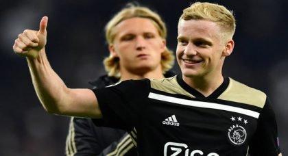 Newcastle fans react to Van de Beek report