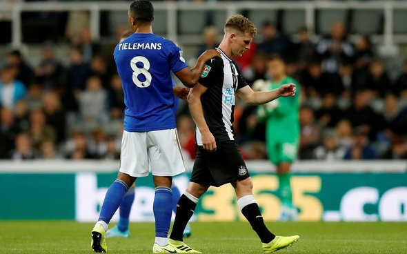Image for Newcastle fans react to Ritchie setback