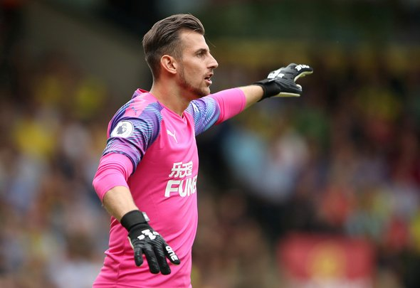 Newcastle make progress over Dubravka contract