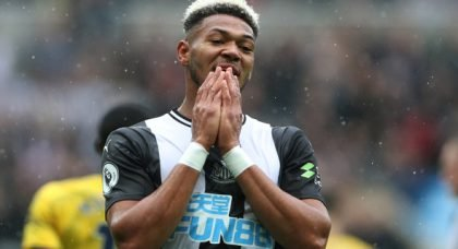 Newcastle fans hammer Joelinton v Burnley