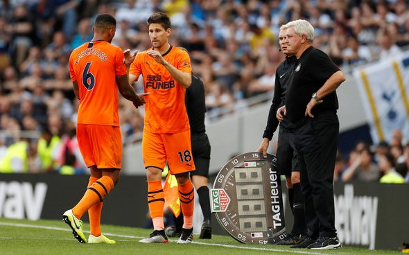 Image for Newcastle should sell Fernandez if Benitez bid arrives