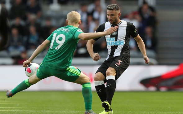 Image for Dummett disappointed at Man United axe