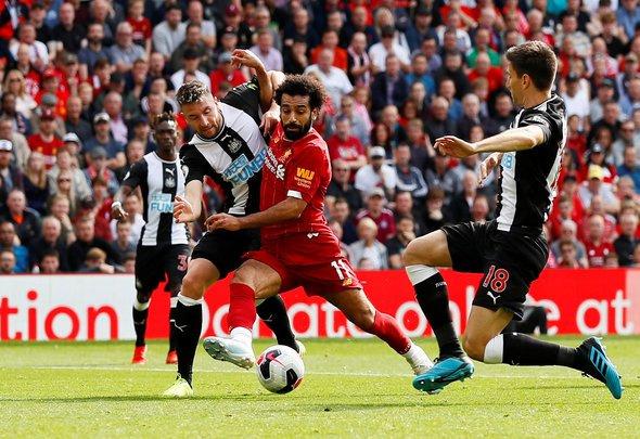 Newcastle fans rave over Dummett v Liverpool