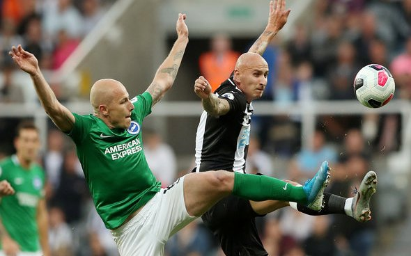 Image for Cascarino questions Shelvey after Brighton display