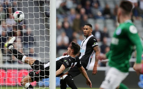 Image for Schar uses expletive to describe Newcastle performance v Brighton