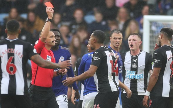 Image for Danny Mills launches attack on Isaac Hayden after Leicester red card