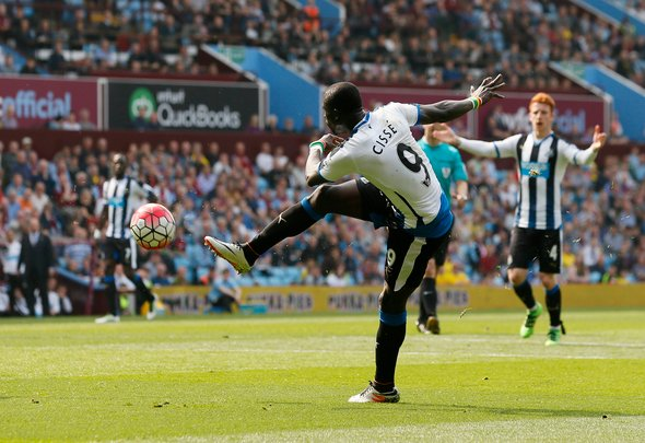 Flashback: Some Newcastle fans reminisce over Cisse strike