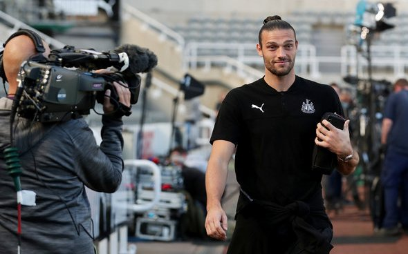 Image for Newcastle fans react to Carroll inclusion v Sheffield Utd