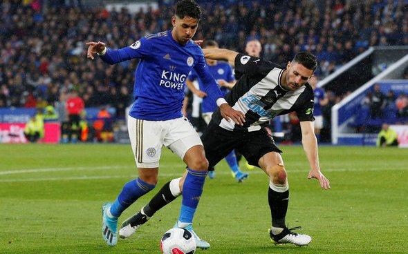 Image for Newcastle fans react to Perez v Southampton