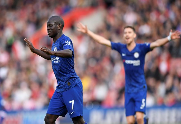 Four Chelsea players could miss out v Newcastle