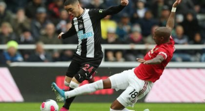 Ryder: Almiron wrapped in 'cotton wool'