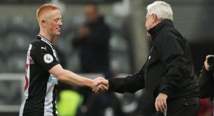 Mills praises Bruce for choosing Shelvey over Longstaff v West Ham