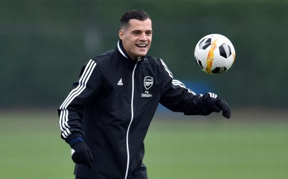 Image for Newcastle fans react to Downie's Xhaka update