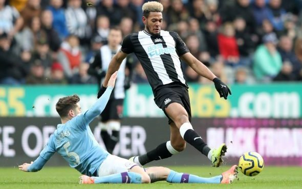 Image for Newcastle fans slam Joelinton v Man City