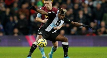 Newcastle fans drool over Saint-Maximin v Southampton