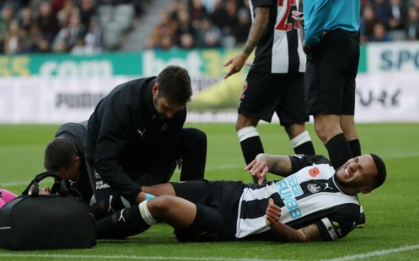 Image for Newcastle surely overreact to Lascelles blow
