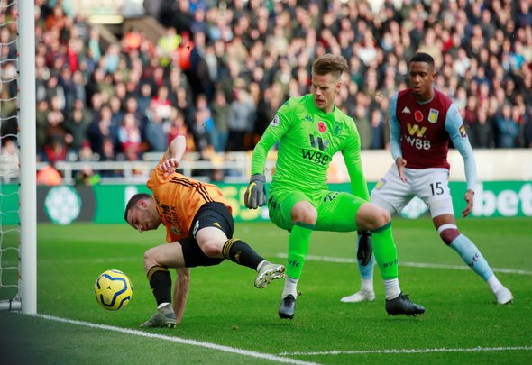 Nyland could earn first PL start in Aston Villa v Newcastle