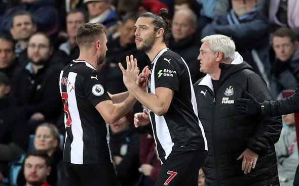 Image for Newcastle fans destroy Dummett v Villa
