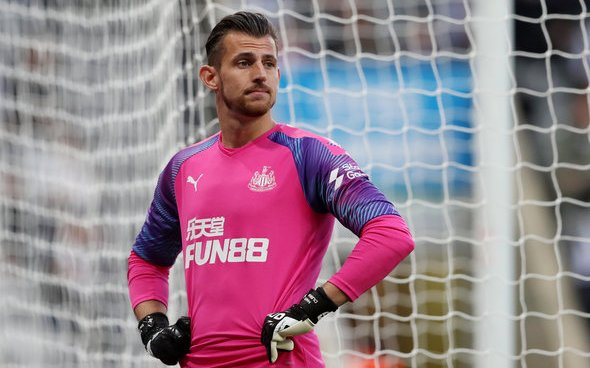 Image for Dubravka named in Team of the Week