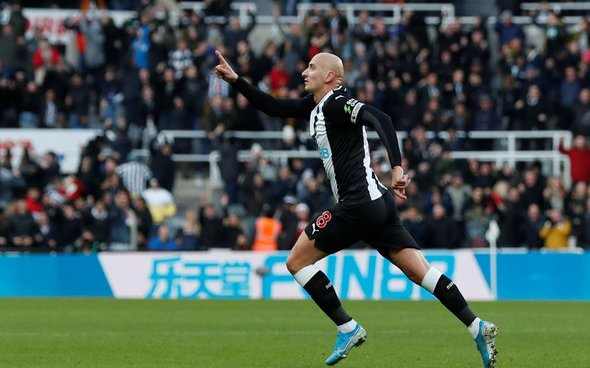 Image for Three Newcastle stars in Shearer TOTW after Man City clash